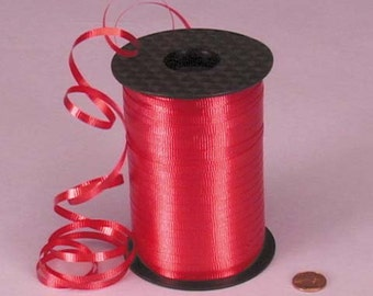 Tanday Red 500 yards Balloon Curling Ribbon