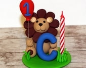 Custom Made Lion Candle Holder Cake Topper