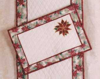 Christmas Table RunnerPattern from Kuntry Quiltin