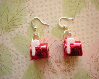 Red Mailbox Earrings, Red Earrings, Red Jewelry, Christmas Earrings, Christmas Jewelry