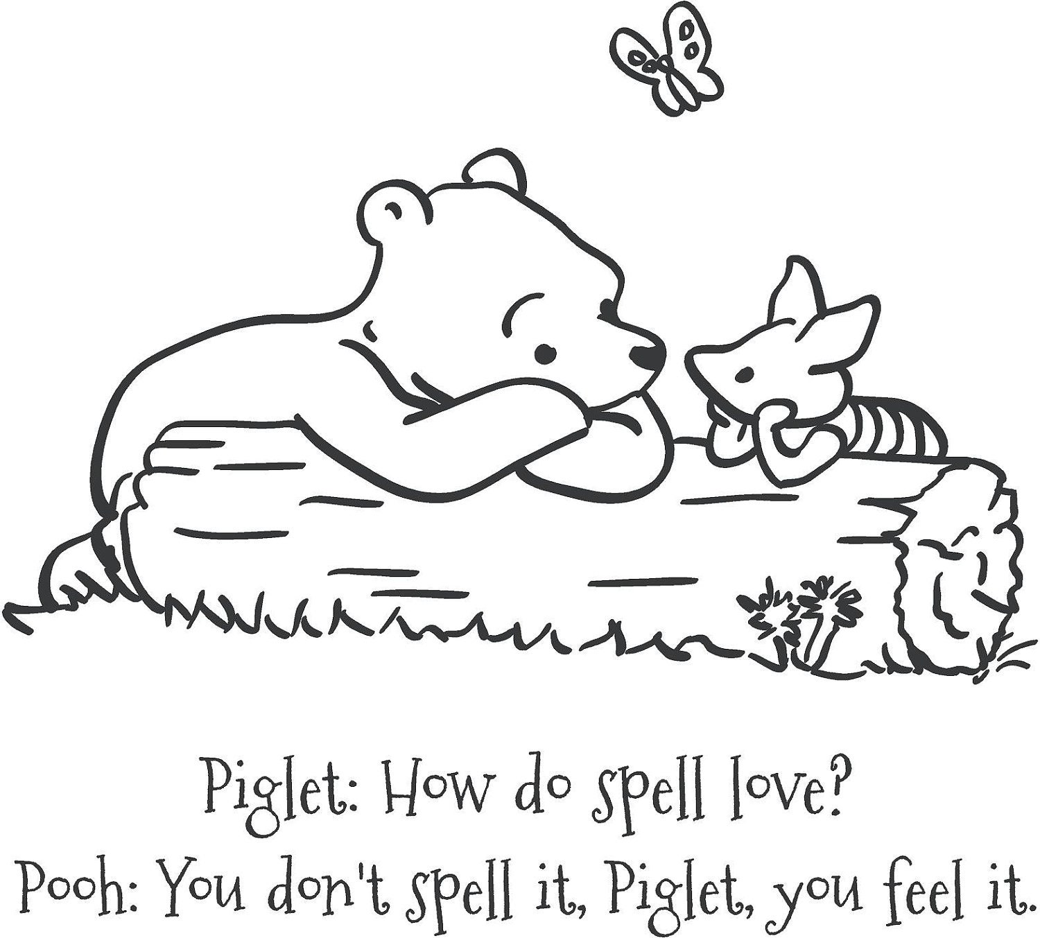 Piglet And Winnie The Pooh Quotes: Classic Winnie The Pooh And Piglet How Do You By