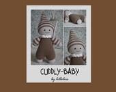 PATTERN - Cuddly-baby, amigurumi baby doll, crochet toy