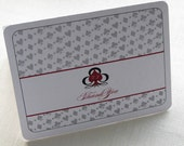 Las Vegas Thank You Card - Casino Playing Card  - Note Card Gift Set of 10 - Personalized