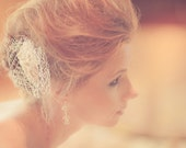 Bridal Hair Comb - Rhinestone Hair Comb - Bridal Headpiece - White Ivory Black - Wedding Hair Accessory - Bridal Headpiece - Made to Order