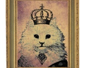 Purr Cat Queen 5x7 Archival Print Clearance Sale