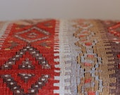 Vintage Kilim Floor Pillow Cover
