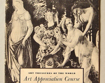 Vintage Art Appreciation Course Booklet - The Pleasures of Painting