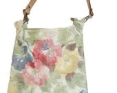 Small floral print purse