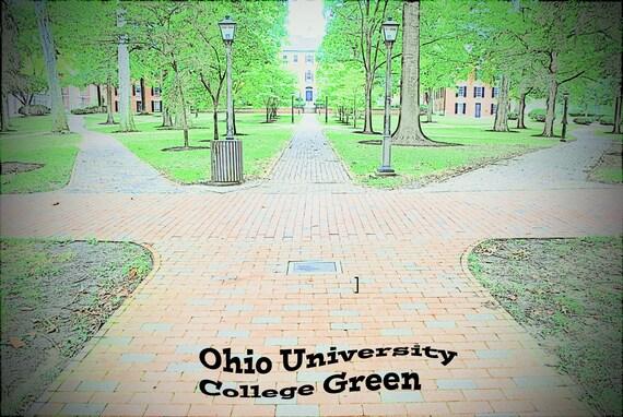 Ohio University, College Green.