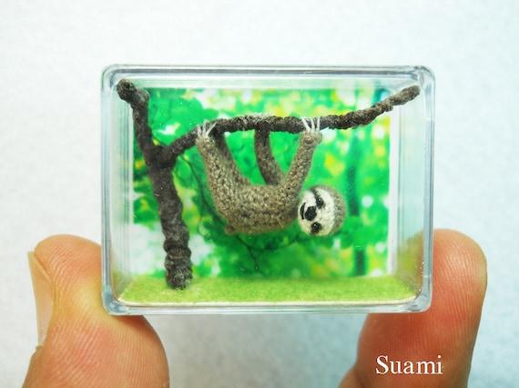 欣赏:微型钩针动物 - maomao - 我随心动