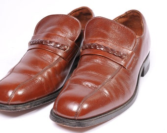 1970s Mens Dress Shoe Size 8.5 by Hanover