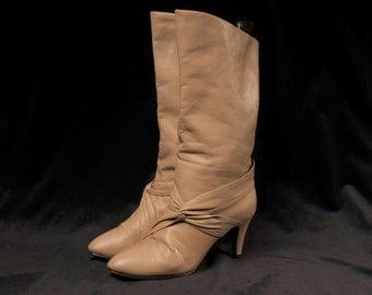 Short High Heel Boot  7B