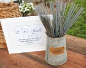 Wedding Sparkler Send Off Sign Featured on www.StyleMePretty.com