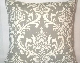 Premier Prints Ozborne Twill Storm pillow cover 24 X 24