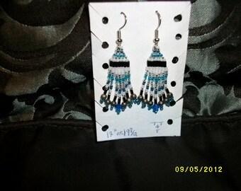 Blue Ice Earrings  D