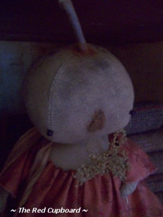 Sugar Pie A Primitive Pumpkin Doll From The Red Cupboard