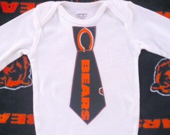 Chicago Bears Tie Bodysuit