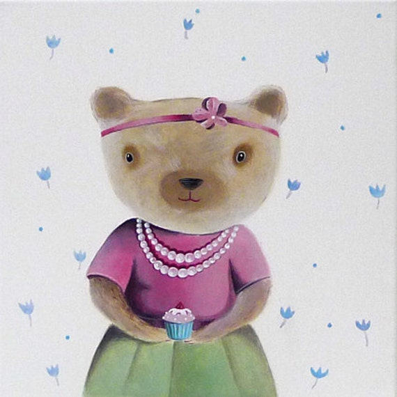 Sweet teddy bear Reserved,  special order for Linda.