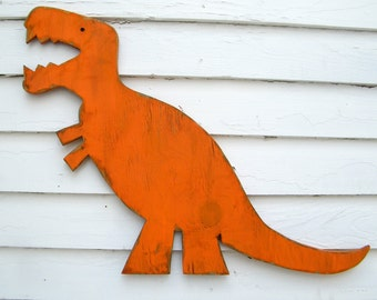 T Rex Wall Art Dinosaur Small Baby Nursery Wall Decor