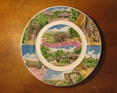 Vintage Rock City Souvenir Plate