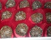 Heat Seeker Alert  Chocolate ghost pepper ganache bon bons, spicy chocolate candy