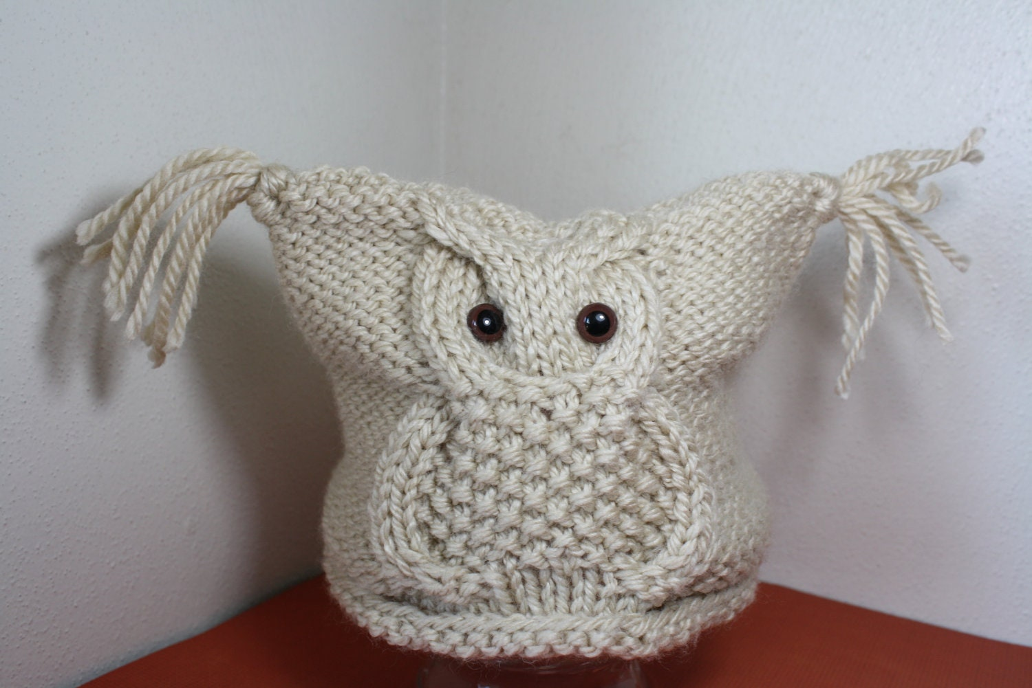 Free Knitting Patterns For Baby Owl Hats : Knit Owl Hat Pattern Free Search Results Calendar 2015