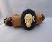 Skull Cameo Wine Cork Bracelet