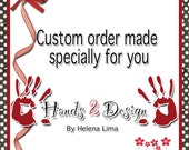 Custom order for Vianny Ewing - Red Lady Bug