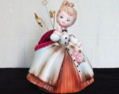 Lady in Waiting Pin Cushion, Vintage and Upcycled