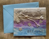 Rope the Moon greeting card