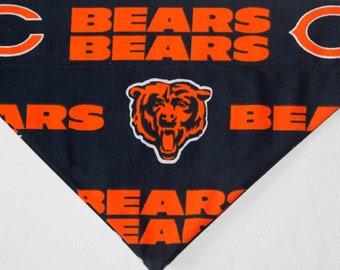 NFL Chicago Bears Over the collar dog Bandana / Scarf