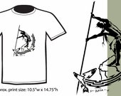 Pacific Northwest Indigenous Fisherman T-Shirt