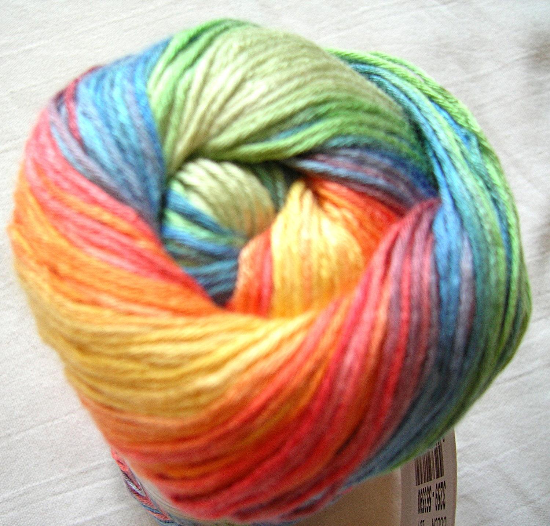 Alize Bamboo Fine Yarn Hypoallergenic Yarn Batik Design.