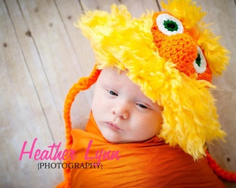 Crocheted Lorax Hat