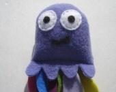 Jacob The Jellyfish Catnip Cat Toy - Purple