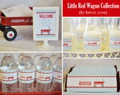 Little Red Wagon DIY Printable Collection