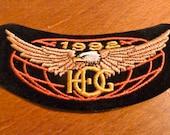 Harley Davidson  - Vintage 1992 Harley Davidson Patch