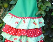 Adorable Ruffle Apron for your little girl RTS