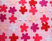 PINK GARLAND *  Pretty in Pink * Party Decoration * Birthday Party *  Felt Garland  * Celebrate
