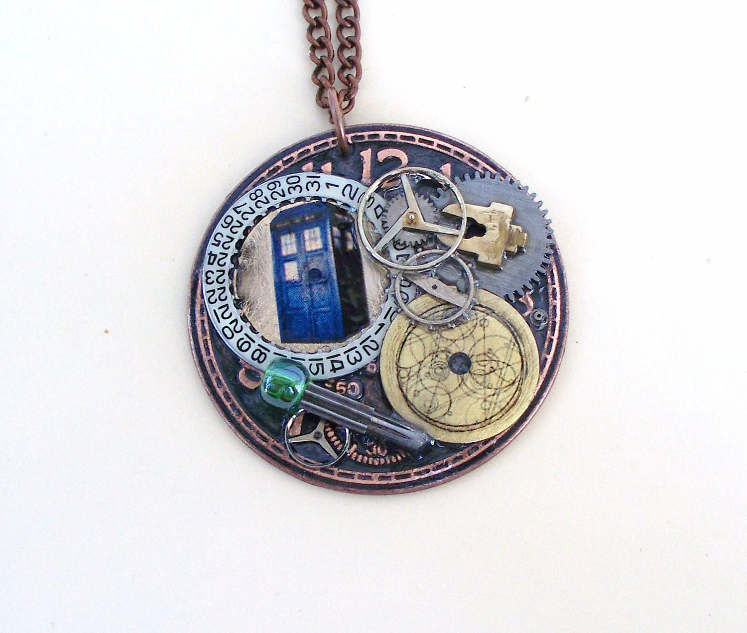 doctor who necklace transmat device
