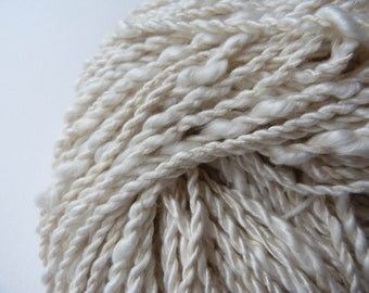 Core Spun Thick & Thin Hand Spun Art Yarn
