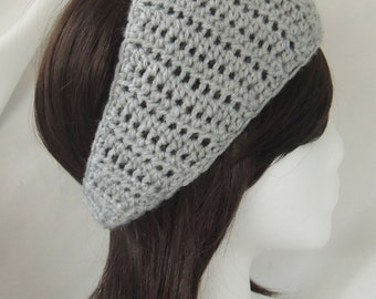 Light Grey Headband / Earwarmer / Calorimetry