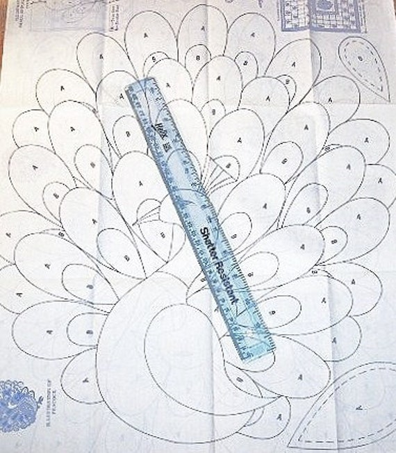 Free Peacock Quilt Pattern? Askives - Askives - Answers to