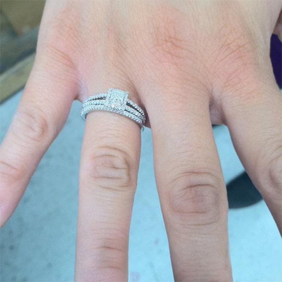 Image result for double shank ring sets