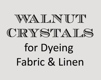 walnut crystals 1 oz. dyeing fabric linen paper cross stitch distressing primitive aged DIY