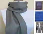 Pashmina, Dark Gray Pashmina Scarf, Shawl, Wrap, bridal shawl, bridesmaids shawl, bridal gift