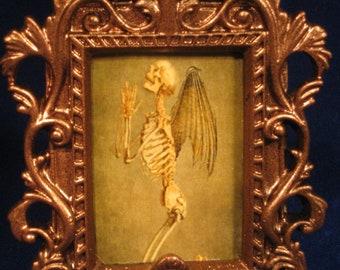 Vampire, Goth, Fallen Angel, Steampunk, Victorian, Halloween Picture or Ornament