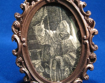 Goth, Vampire,The Death Picture Decor Halloween, Steampunk, Victorian