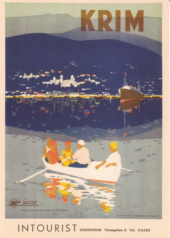 Welcome to the USSR. Soviet Travel Postcard. Crimea. soviet propaganda, soviet union 1930 propaganda, vintage propaganda, soviet art, USSR