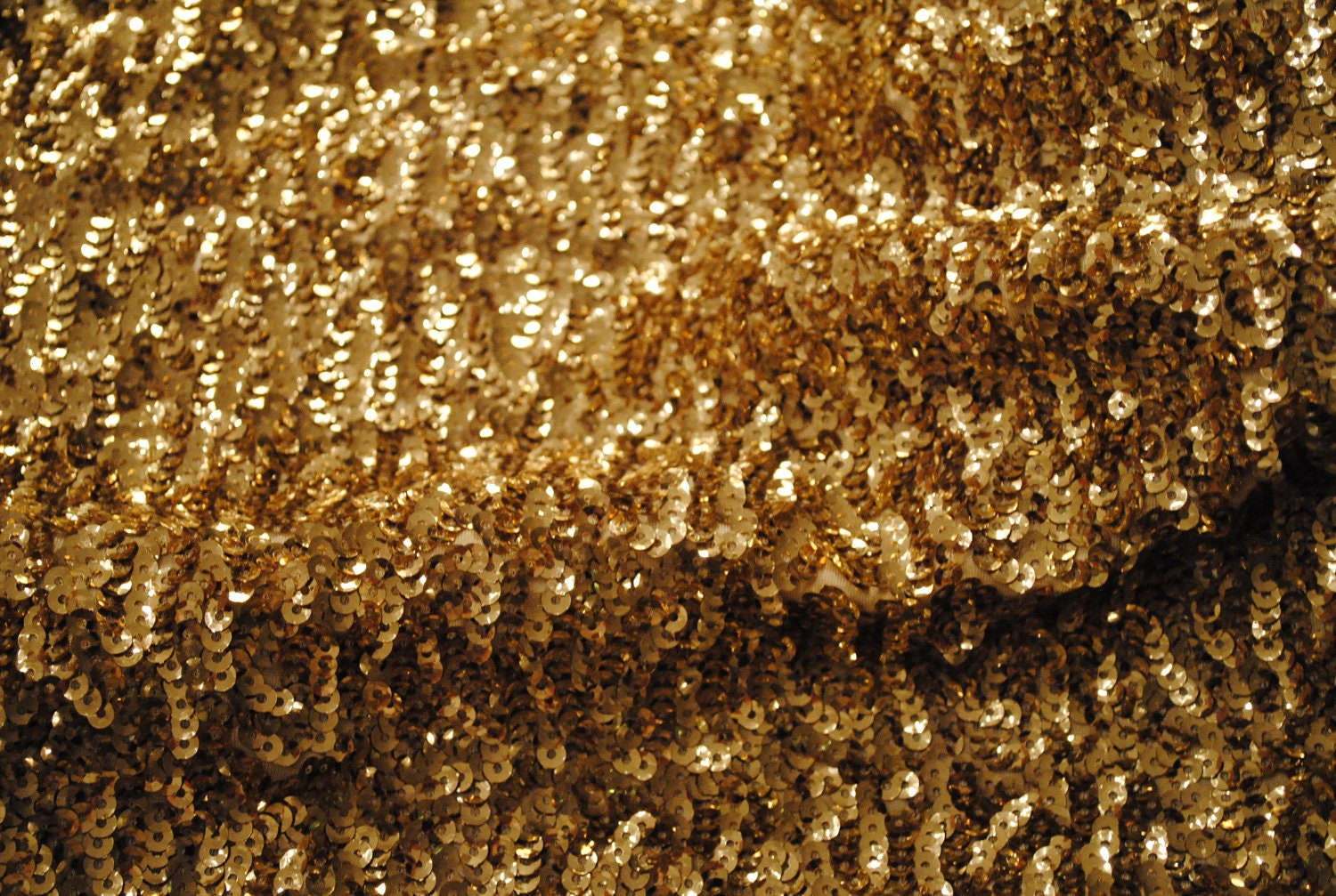 Light gold sequin fabric for skirt pencil dress long for Sparkly material